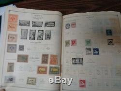 Scott International Jr. WW Album Collection 3,000 stamps1840-1940