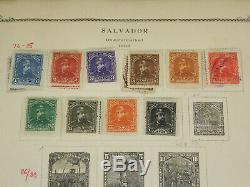 Scott Specialty Album El Salvador Stamp Collection Lot Used & Mint Early, BOB ++