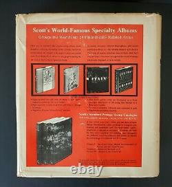 Scott US NATIONAL ALBUM Postal Stamp Collection to 1975 Mounted 900+ Stamps