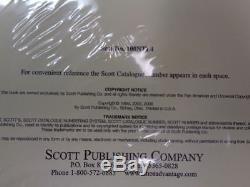 Scott US National Stamp album collection pages supplement 1994-1999 pt 4 100NTL4