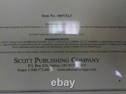 Scott US National Stamp album collection pages supplement 2000-2005 pt 5 100NTL5