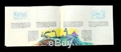 Sinclair Dinosaur Stamp Album Research Program 1959 Complete Teachers Sample Kit