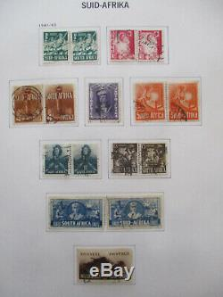 South Africa Comprehensive Collection In Davo Album 1910/2000 1500+