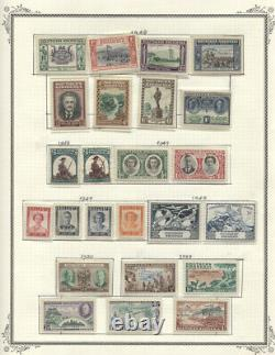 Southern Rhodesia #1//108 MLH/Used CV$411.70 1924-1964 Collection on Album Pages
