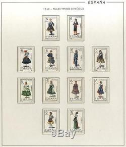 Spain 3 Filabo Hingeless Album Complete Collection 1965-1991 (27 years) MNH Luxe