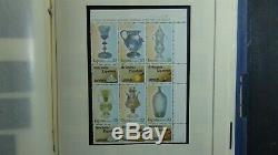 Spain stamp collection in Scott Int'l album with est. Many 1,350 stamps'92
