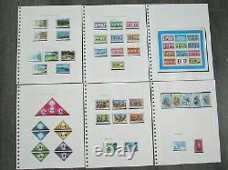 St Vincent Mint Stamp Album Collection (1967 to 1981) SG257 689 Complete
