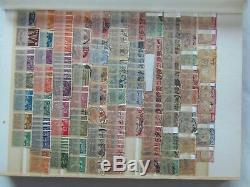 Stamp ALBUM LOT OF VINTAGE PRE 1900, KILOWARE, OLD STAMPS, COLLECTION, LOT OF