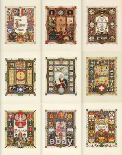 Stamp Album Tittle Pages Collection Arthur Szyk USA USSR CHINA POLAND FRANCE UK