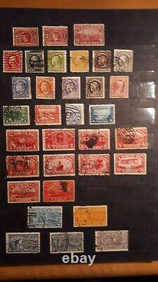 Stamp Collection Album US in clean stockboock from 1850 till 1954 high CV$