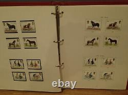 Stamp Collection Starter set from Penny Black to 1978 in Stanley Gibbons album