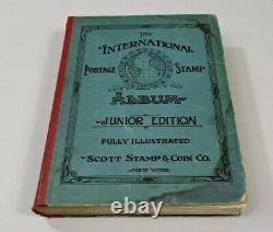 Stamp Pickers 1930's Scott International Album Collection Estate Lot A-Z CV=6k+