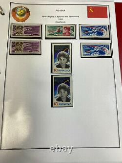 Stamp Vault RUSSIA 1960-1969 MINT YEAR SETS COLLECTION HINGELESS ALBUM PAGES