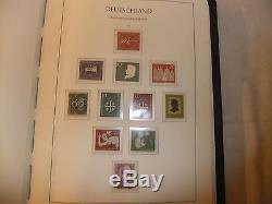 Stamp collection GERMANY DEUTSCHLAND u/m mint LIGHTHOUSE album 1949-79 99% full