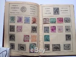 Stamps Rare Collection 1900s Vintage Album Europe America Africa Asia Austr VG