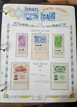 Substantial Israel Collection with 5 White Ace albums 1948-1999