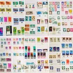 Superb Album Collection of Over 2000 Israeli Postage Stamps From The 1950s & 60s