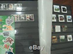 Superb Commemorative Collection 1953-2017 Fv Mnh £1530 Stamps 5 Albums