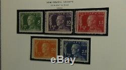 Sweden stamp collection in Scott Specialty album with est. 1,100 Classics to'88