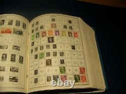 THE MASTER GLOBAL STAMP ALBUM COLLECTION 1969 MINKUS 100s of Stamps