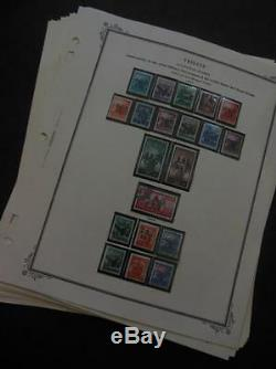 TRIESTE A Beautiful mostly Mint collection on album pages Scott Catalog $3400+