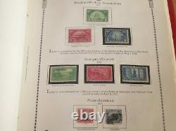 The All American Stamp Album Commemorative Collection 1893 -1988 1,259 stamps