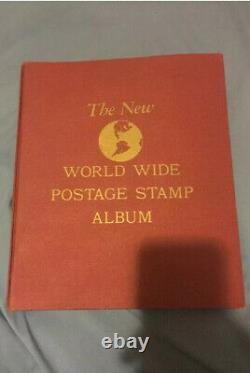 The New World Wide Postage Stamp Album 1900s Great Condition