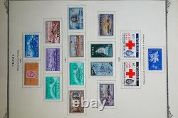 Tonga Stamp Collection in Scott Album 1800s-1970s Wild Shapes