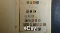 Turkey stamp collection in Scott Specialty album with 1,300 or so stamps to'53