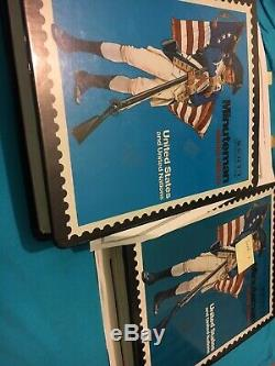 Two SCOTT MINUTEMAN US ALBUM WITH COLLECTION