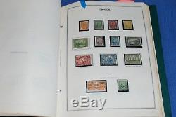 Two Volume Canada and Provinces in Harris Stamp Album Collection $2500+ nice