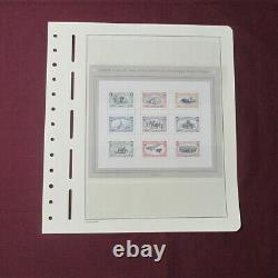 U. S. Collection in Lighthouse hingless album 600 mint stamps face $125.00