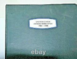 U. S. Commemorative Stamp Album Collection-1980-1986-over 630 All Mint Stamps