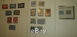 UN stamp collection Linder album 1951-69 mint NH