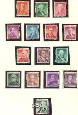 UNITED STATES COLLECTION 18472005, Two Scott Specialty Albums, Scott $1,940.00