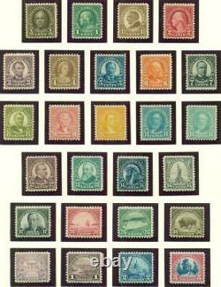 UNITED STATES COLLECTION, 4 Lighthouse albums 1900-1970 NH, Scott $7,570.00