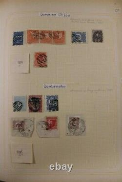 URUGUAY 1100+ Pages POSTMARKS Ex-Archive 3 Box 11 Album PREMIUM Stamp Collection