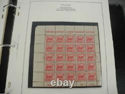 US(-1945), BOB, Spectacular Stamp Collection mounted in a Scott Specialty album