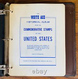 US COMMEMORATIVE STAMP ALBUM COLLECTION 1950-1983 MNH on 46 WHITE ACE PAGES