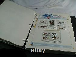US MINT Stamp Collection mounted in a 6 Volume WHITE ACE album withcase & Bonus