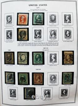US Mint and Used Stamps Collection in Two Harris Liberty Albums