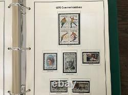 US Stamp Collection American Heirloom Album Three Volumes almost 2000 stamps