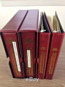 US, Superb Revenue, Airmail & Hawaii Stamp Collection in 4 vol Mystic album