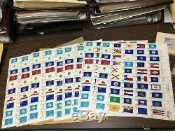 US WW Stamp Collection in Albums! Estate Sale! Must See! 250+ pics