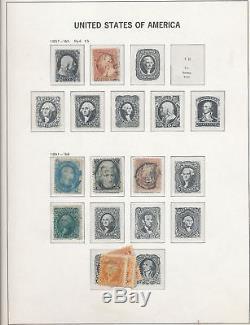 USA 1850s/1980s Two Davo Album M&U Collection(Appx 2500+)ALB196