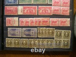 USA 1890-1940 Mint Stamp Collection in SAFE Stock album GZ9