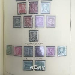 USA mint never hinged collection in 2 Scott albums, 1935-1985, face value $225+