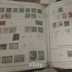 Unique worldwide stamp collection in Scott international album 1800s forward
