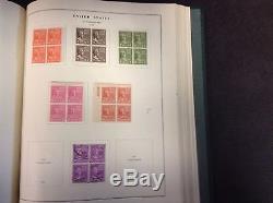 United States Collection in Scott National Album & Binder, 1846-1950, SCV $1172