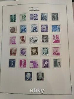 United States stamp collection in national album specialty series 1935-72. HCV